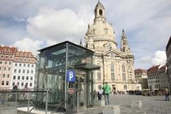 Frauenkirche in Dresden - Tiefgarage